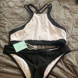 Cupshe High Neck Bikini NWT